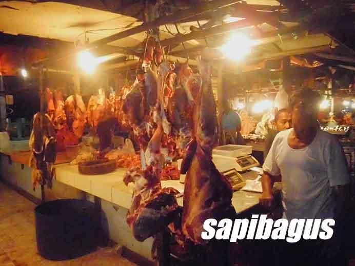 Kios Daging Pasar Munjul Cibubur